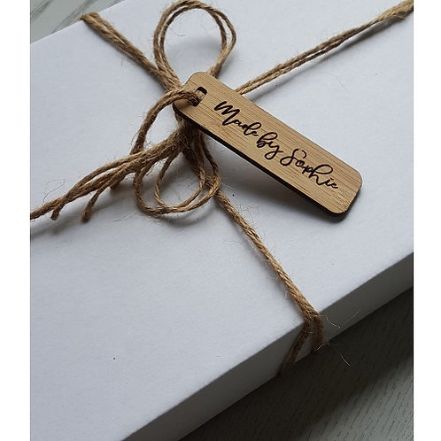 Rectangle Tags - Sets of 25, 50, 75, 100
