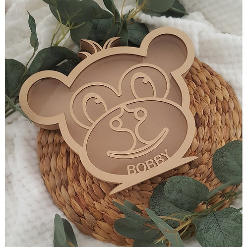 Personalised Name Monkey Box