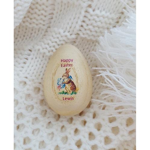 Vintage Easter Egg Shaker