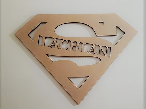 Personalised Superman Sign Style 1