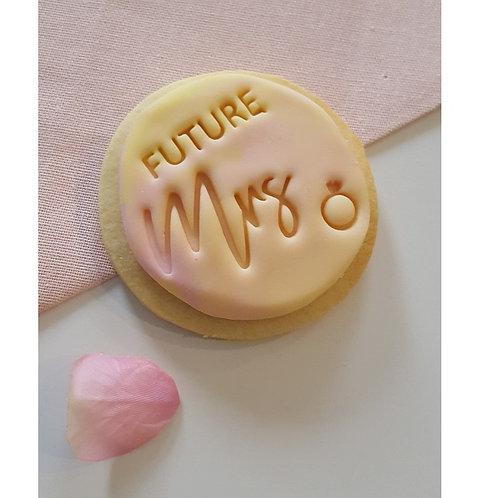 Future Mrs Cookie Stamp