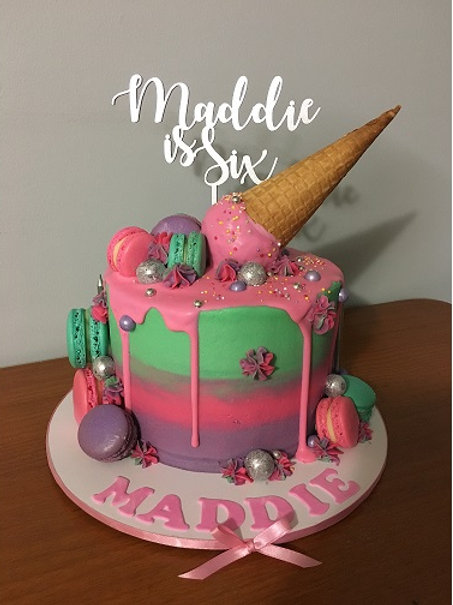 Personalised Birthday age Cake Topper