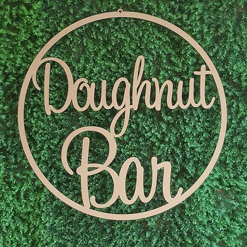 Doughnut Bar Round Hoop