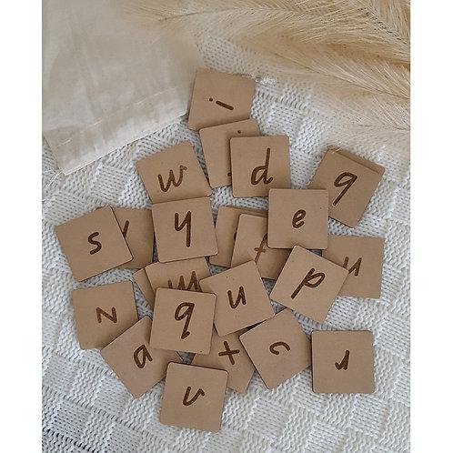 Alphabet Tiles -  Lower Case