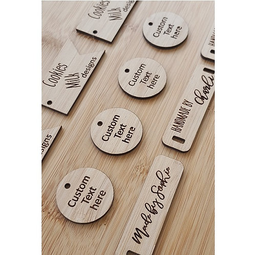 Round Tags - Sets of 25, 50, 75, 100