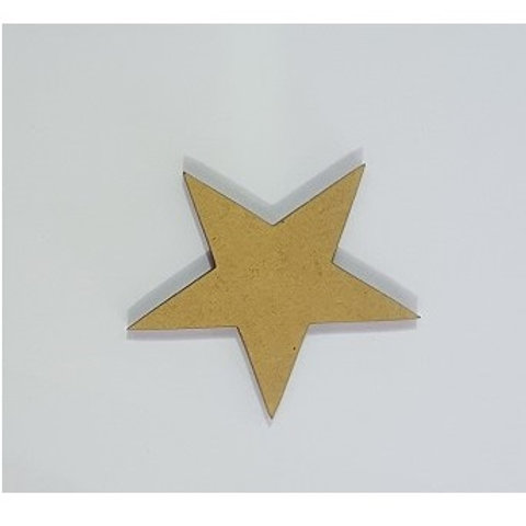 Packs of Shapes Cut Out 3mm - Star