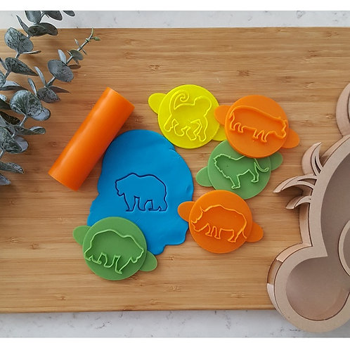Animal Set Play Doh Stamps