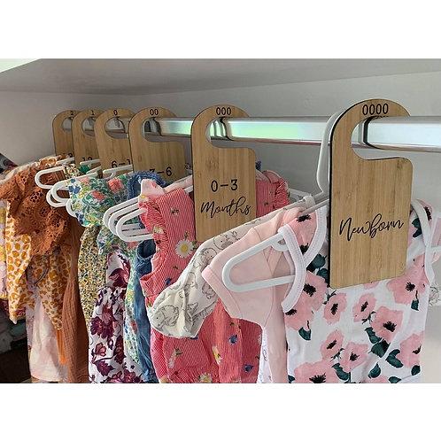 Bamboo Wardrobe Dividers