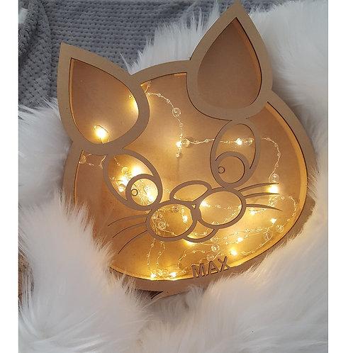 Personalised Name Cat Box