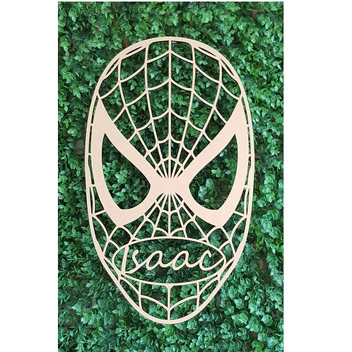 Personalised Spiderman Sign