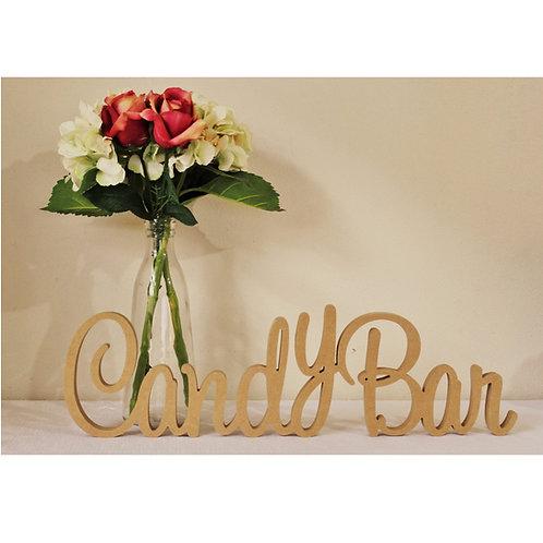 CandyBar Sign 150mm