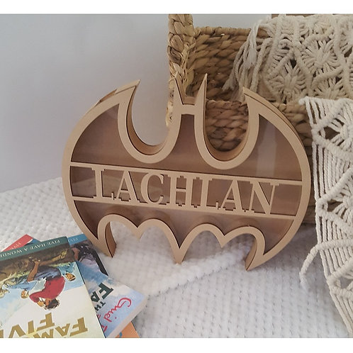Personalised Name Batman Box