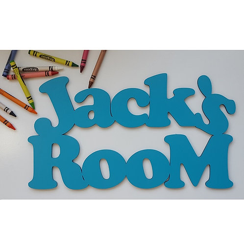 Room Name Sign