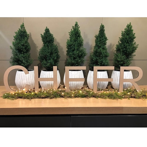 Free standing Letters with base