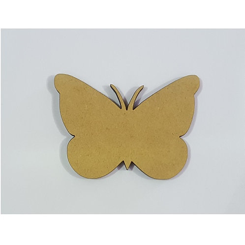 Packs of Shapes Cut Out 3mm - Butterfly