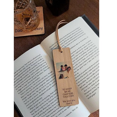 Personalised Bamboo Bookmark