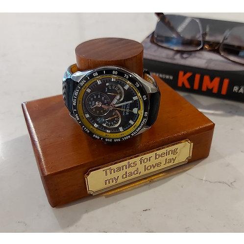 Personalised Single Watch Holder