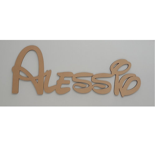 Wall Hanging Character Kids Name