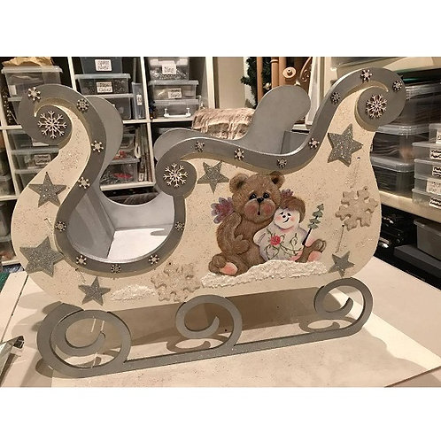 Personalised Sleigh - LARGE
