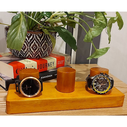 Personalised 2 or 3 Watch Holder