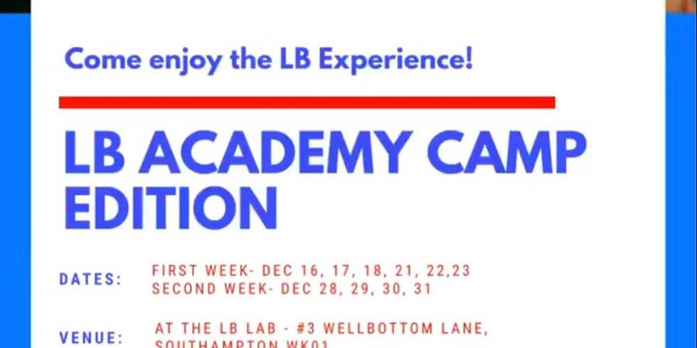 LB Academy Christmas Camp
