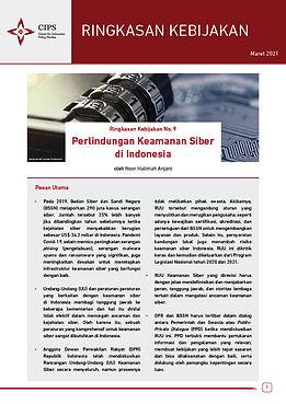 Perlindungan Keamanan Siber di Indonesia - Ringkasan Kebijakan CIPS
