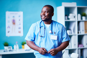 graphicstock-smiling-clinician-in-hospit
