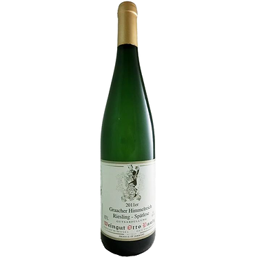 Weingut Otto Pauly Graacher Himmelreich Riesling Spatlese 2011 葛納赫村天堂園麗絲玲晚摘甜白酒