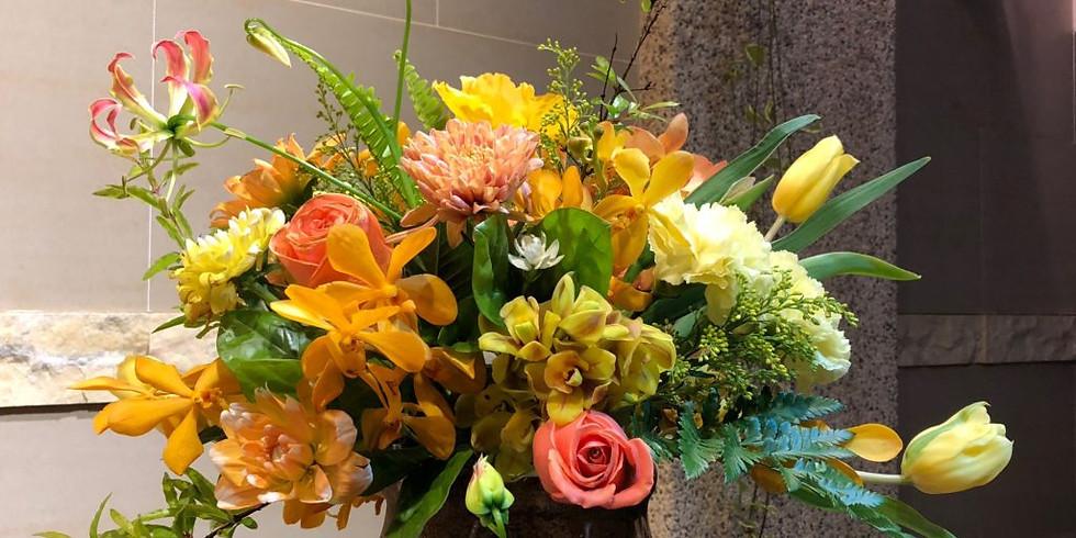 5/9(六)花藝與品酒:英式花藝與迷人的女性香氣葡萄酒