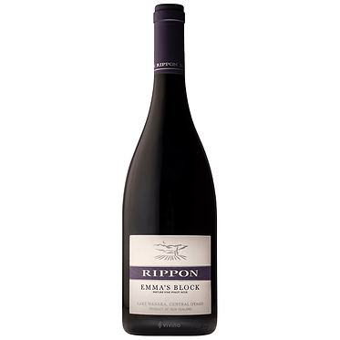 Rippon Emma's Block Mature Vine Pinot Noir 2015 雷鵬 荖藤黑皮諾 艾瑪園