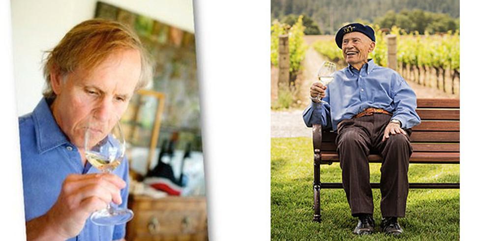 晚Napa最有價值的釀酒師Peter Franus與Mike Grgich傳奇餐酒會