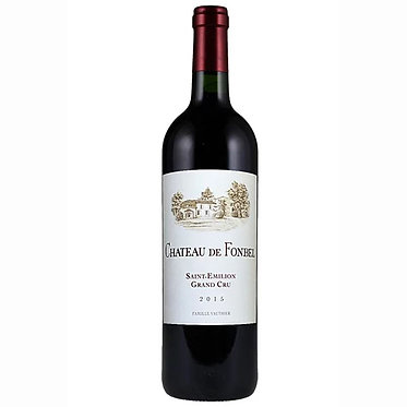 Chateau de Fonbel  Saint Emilion 2015 芳貝堡聖艾美濃紅酒