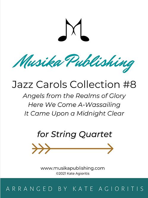 Jazz Carols Collection Set 8 - String Quartet