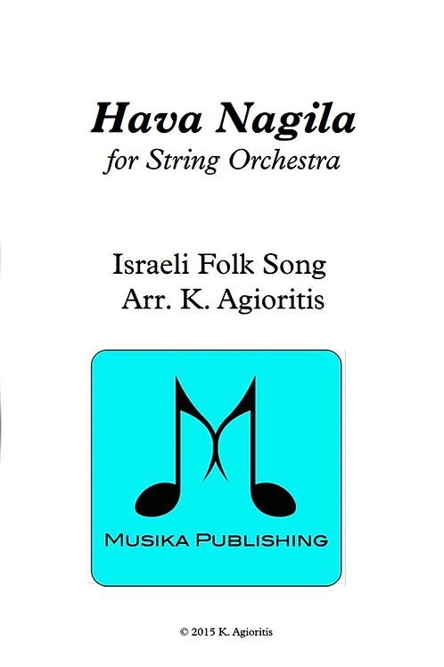 Hava Nagila - String Orchestra