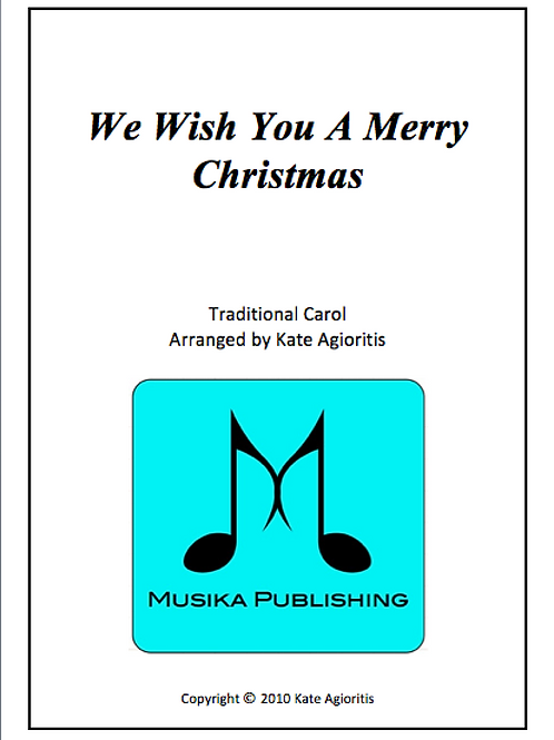 We Wish You a Merry Christmas - Flute Quartet