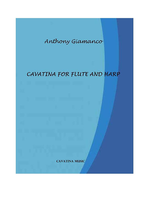 Cavatina - Flute and Harp (or Piano)