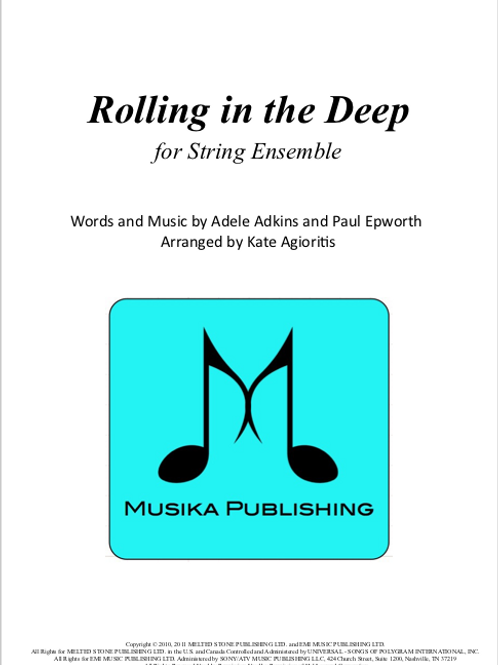 Rolling in the Deep- String Ensemble