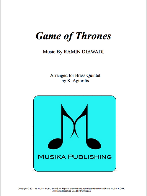 Game of Thrones - Brass Quintet