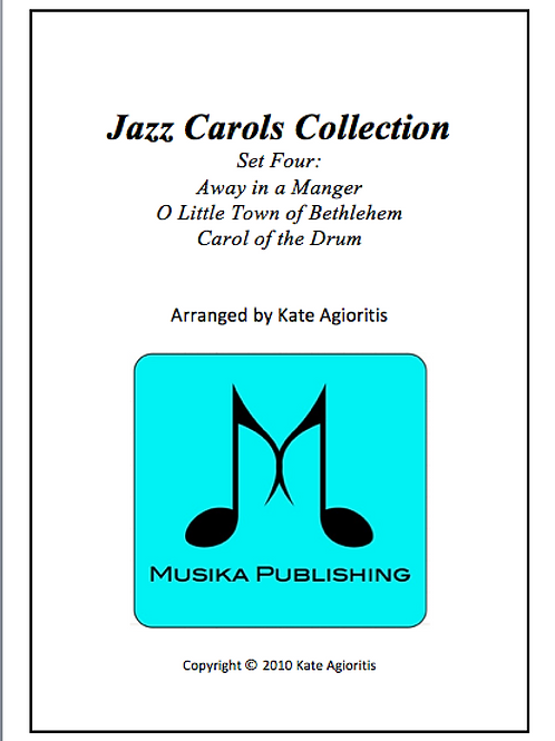 Jazz Carols Collection Set 4 - Brass Quartet