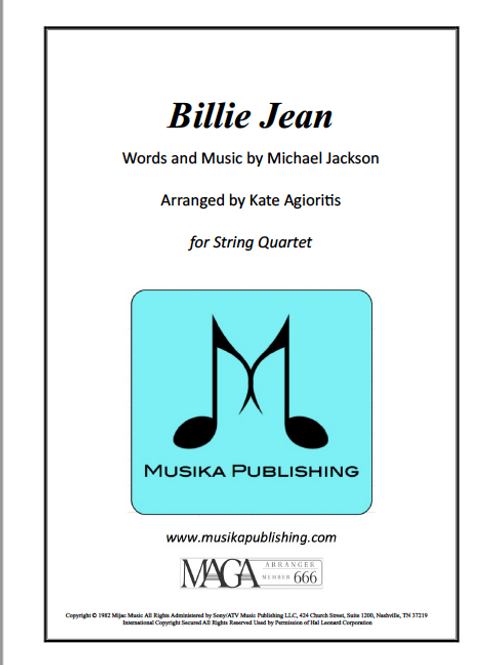 Billie Jean - String Quartet