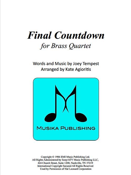 Final Countdown - Brass Quartet