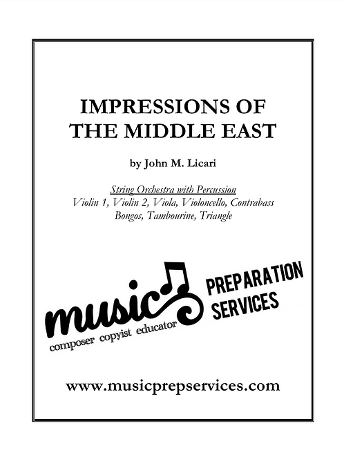 Impressions of the Middle East