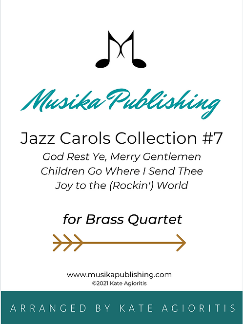 Jazz Carols Collection Set 7 - Brass Quartet