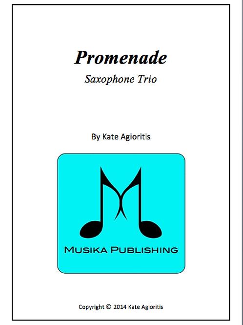 Promenade - Saxophone Trio