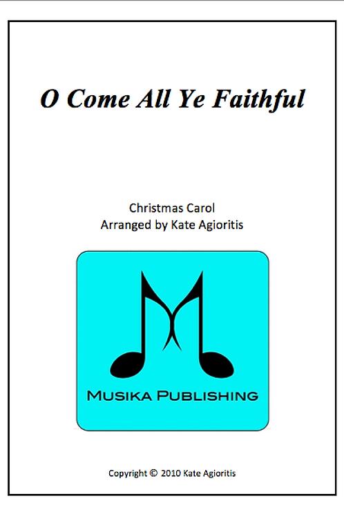 O Come All Ye Faithful - Flute Quartet
