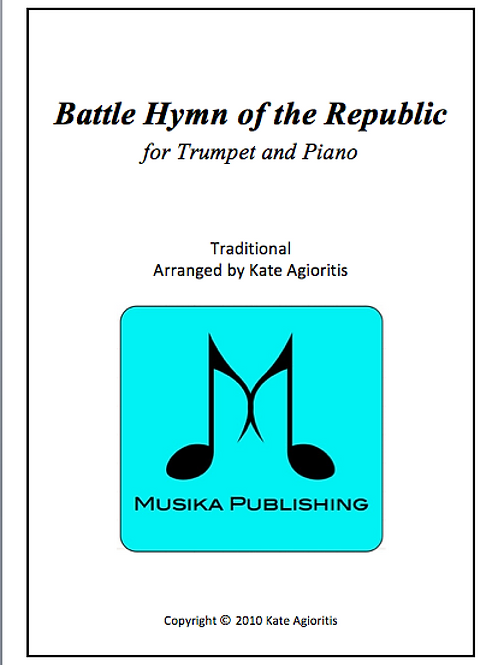 Battle Hymn of the Republic (Jazz - Trumpet and Piano
