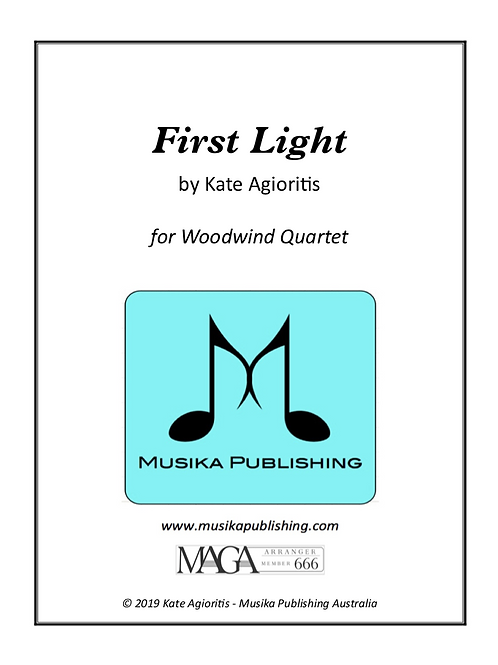First Light - Woodwind Quartet