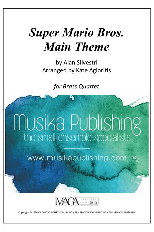 Super Mario Bros. Theme - Brass Quartet