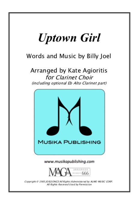 Uptown Girl - Clarinet Choir