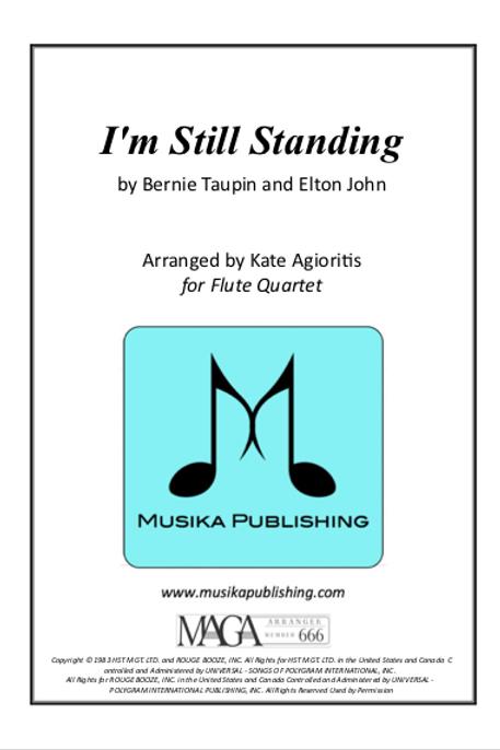 I'm Still Standing - Flute Quartet
